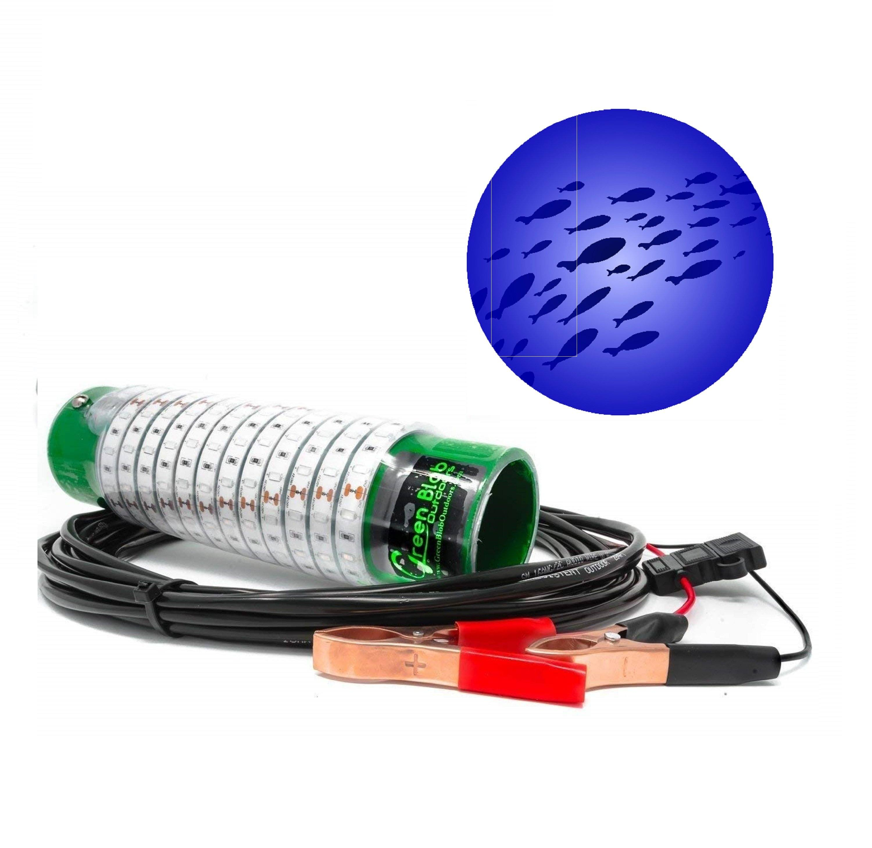 Build Your Blob Build Your Blob Green Blob Outdoors Blue 7,500 Lumens Alligator Clips 30 Feet