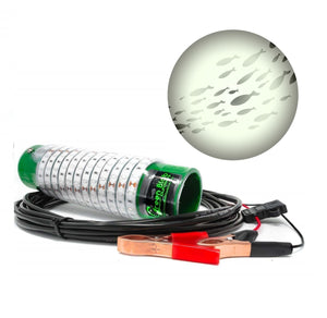 Build Your Blob Fishing Lights Green Blob Outdoors White 7500 (150 LEDs) Alligator Clips + Cig Plug