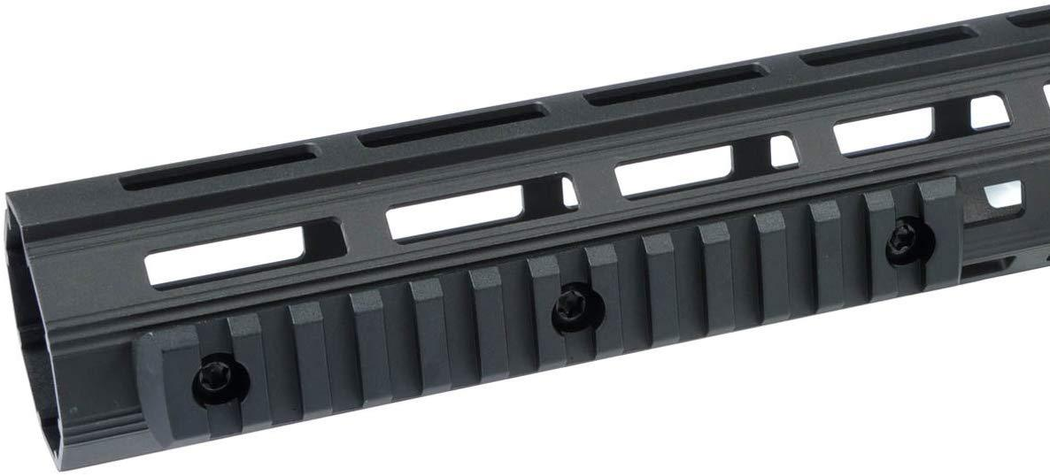 Green Blob Outdoors 13 Slots Rail Section fits M-lok handguards Allows The Attachment of Various M1913 Picatinny spec Rail-Mounted Accessories Such as Lights, Lasers, Sights Rails Green Blob Outdoors