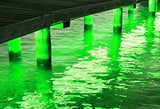 Green Blob Outdoors (Blue, Green, UV, White, or Color Changing) Pimp My Dock LED Lights DIY Premium 15,000 Lumen LED Under Dock Lighting Kit SMD5630 IP68 Completely Waterproof Fishing Lights Green Blob Outdoors Green