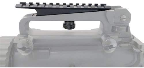 Green Blob Outdoors GBO Carry Handle Rail Mount, 12 Slots with Stanag and Weaver Dimensions Rails Green Blob Outdoors
