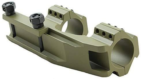 Green Blob Tactical Olive Drab Green 30mm / 1 inch Dual Ring Cantilever Scope Mount for Lasers, Flashlights, Nikon, Leupold, Vortex, Burris Scope Mounts Green Blob Outdoors