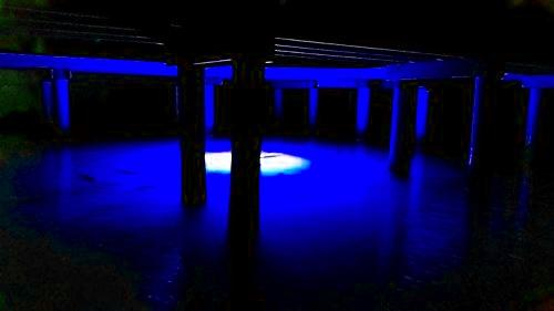 Multi-Color, Color Changing LED Dock-7500 Underwater Fishing Light with Remote Control Fishing Lights Green Blob Otdoors