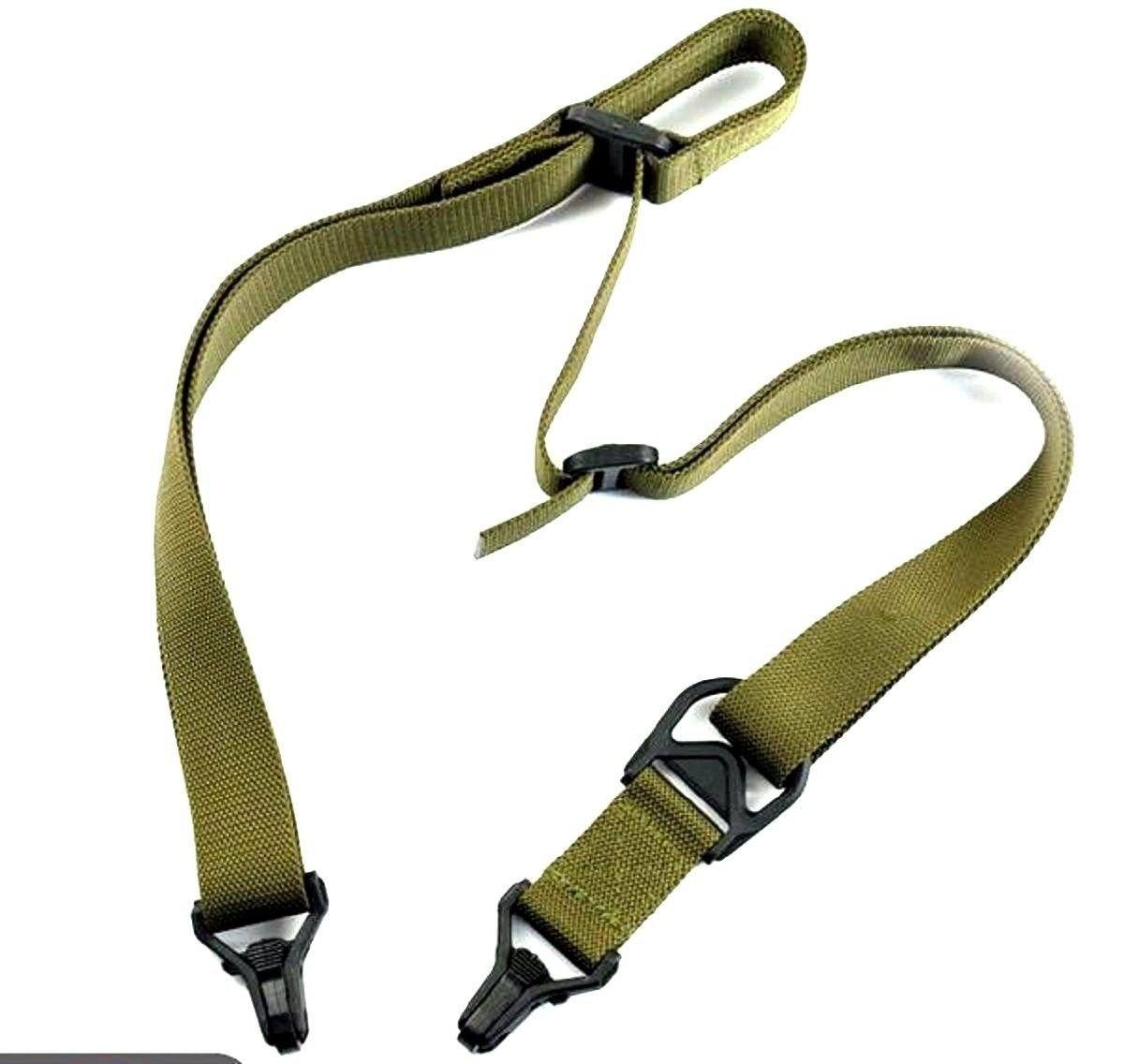 OD Green Tactical AR15 Rifle Gun Strap Slings Green Blob Outdoors