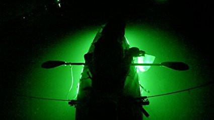Pimp My Kayak - Green LED Lighting DIY Kit - 30,000 Lumens - Includes Red & Green Navigation Lights Pimp My Kayak Green Blob Outdoors