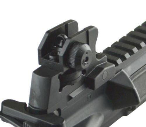 Rear Iron Sight Match-Grade AR-15 M4 Detachable Rear UTG style 223 Black 308 Sights Green Blob Outdoors