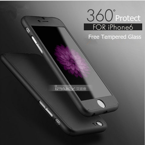 Luxury Brand New Design 360-degree Protective Case for Apple iPhone 6