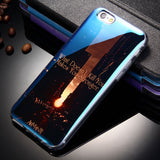 5 5S SE Luxury Silicone Case For iPhone 6 6S Soft Phone Back Cover Coque