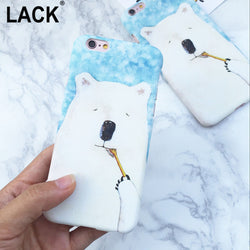 Cute Animal Bear Case For iPhone 6 Case For 6S 6 Plus 5 5S Cell Phone Case