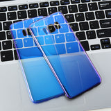 FLOVEME Blue Ray Gradient Phone Case For iPhone/ Xiaomi redmi 4 pro / Xiaomi 5 6