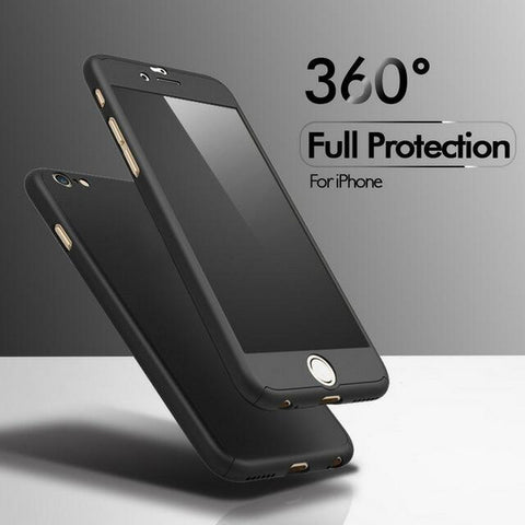 For Apple iPhone 7 6 6s Plus Luxury 360 Degree Protection Cover