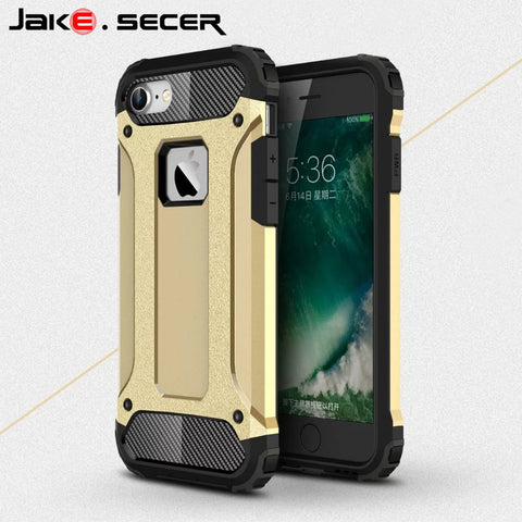 Luxury Cool Armor Coque for iphone 7 Case Silicone Cover  for apple iphone 7 Plu