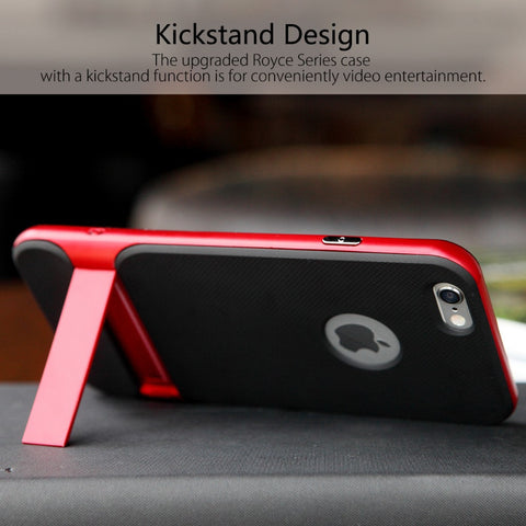 ROCK Royce Series Phone Case For iPhone 6 6s Innovative Kickstand Free Shipping