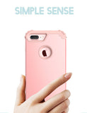 Shockproof Phone Cases for iPhone 6 6S 7 Plus, 3 Layers Hybrid Full Body Protect   phones and cases.myshopify.com