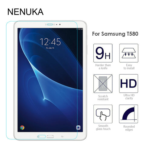 Tempered Glass Screen Protector for Samsung Galaxy Tab A 10.1 (2016) T580 T585 T
