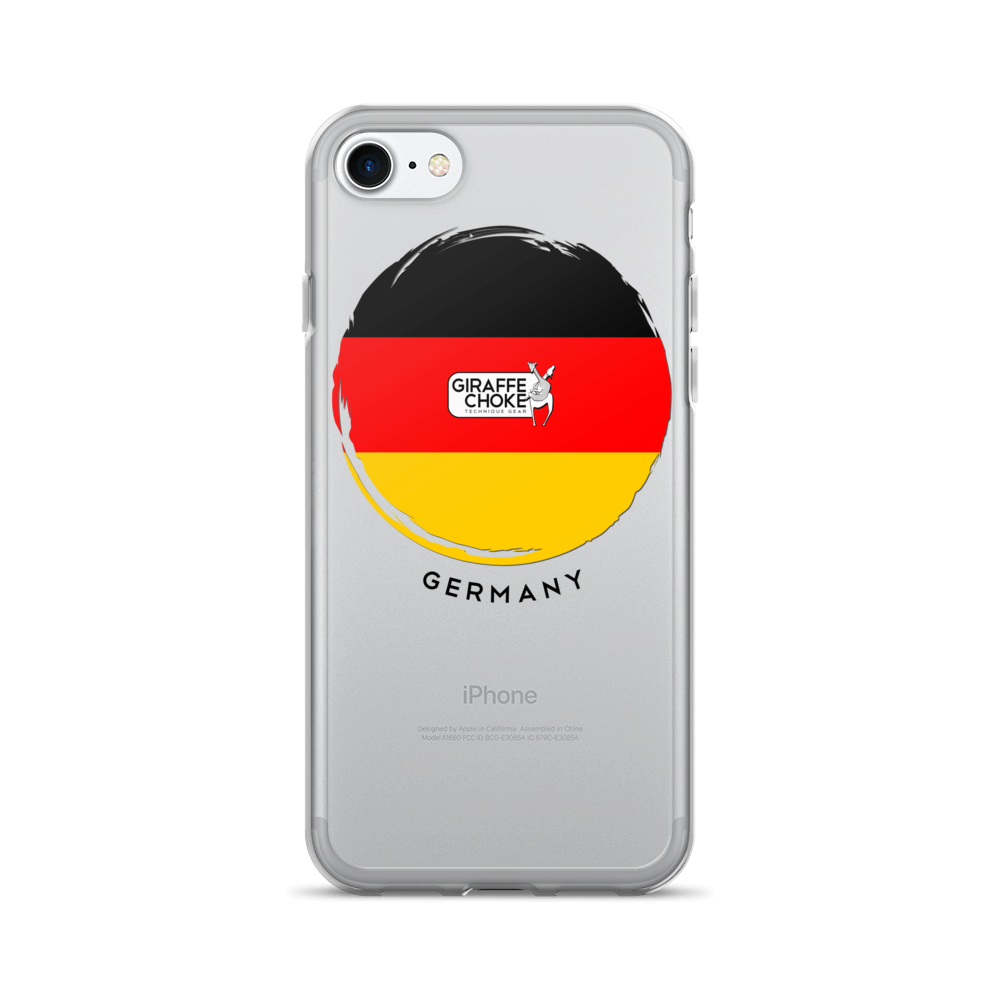 GERMANY Giraffe Choke - iPhone 7/7 Plus Case