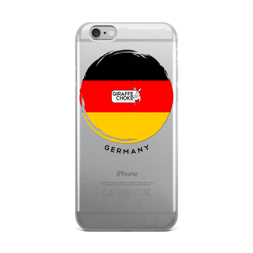 GERMAN Giraffe Choke - iPhone 5/5s/Se, 6/6s, 6/6s Plus Case