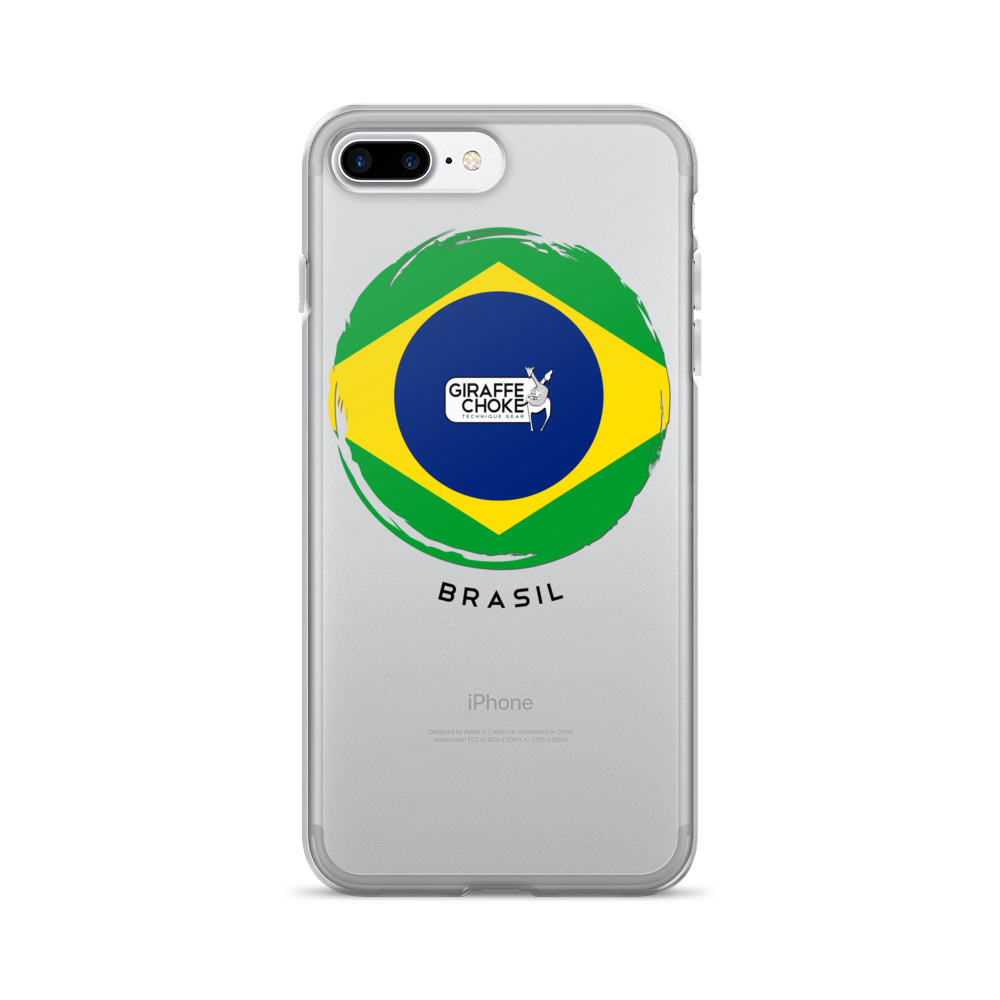 BRASIL Giraffe Choke - iPhone 7/7 Plus Case