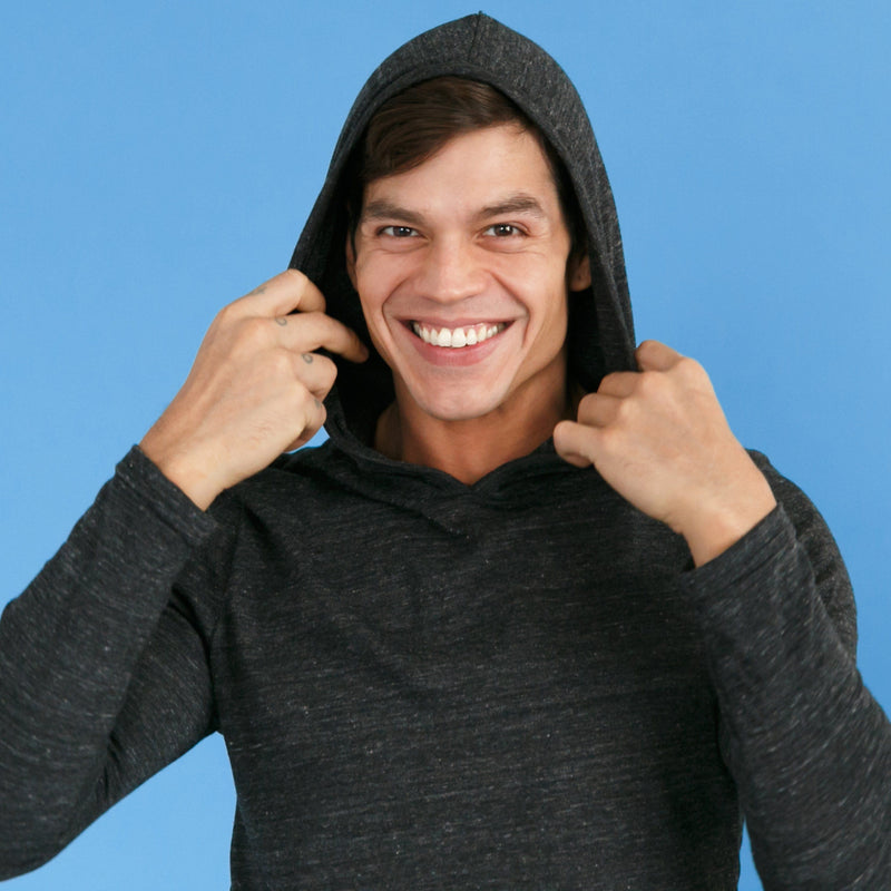 Men's Hoodies - The Quest Seeker // Eco Jersey Pullover Hoodie