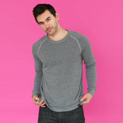 Men's Sweatshirt - The Lonewolf // Eco Fleece Sweatshirt