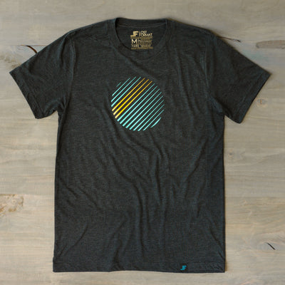 Printed Tees - Jetstream // Tri Blend Tee