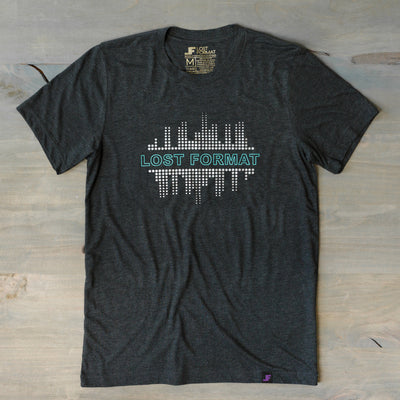 Printed Tees - Silver City // Tri Blend Tee