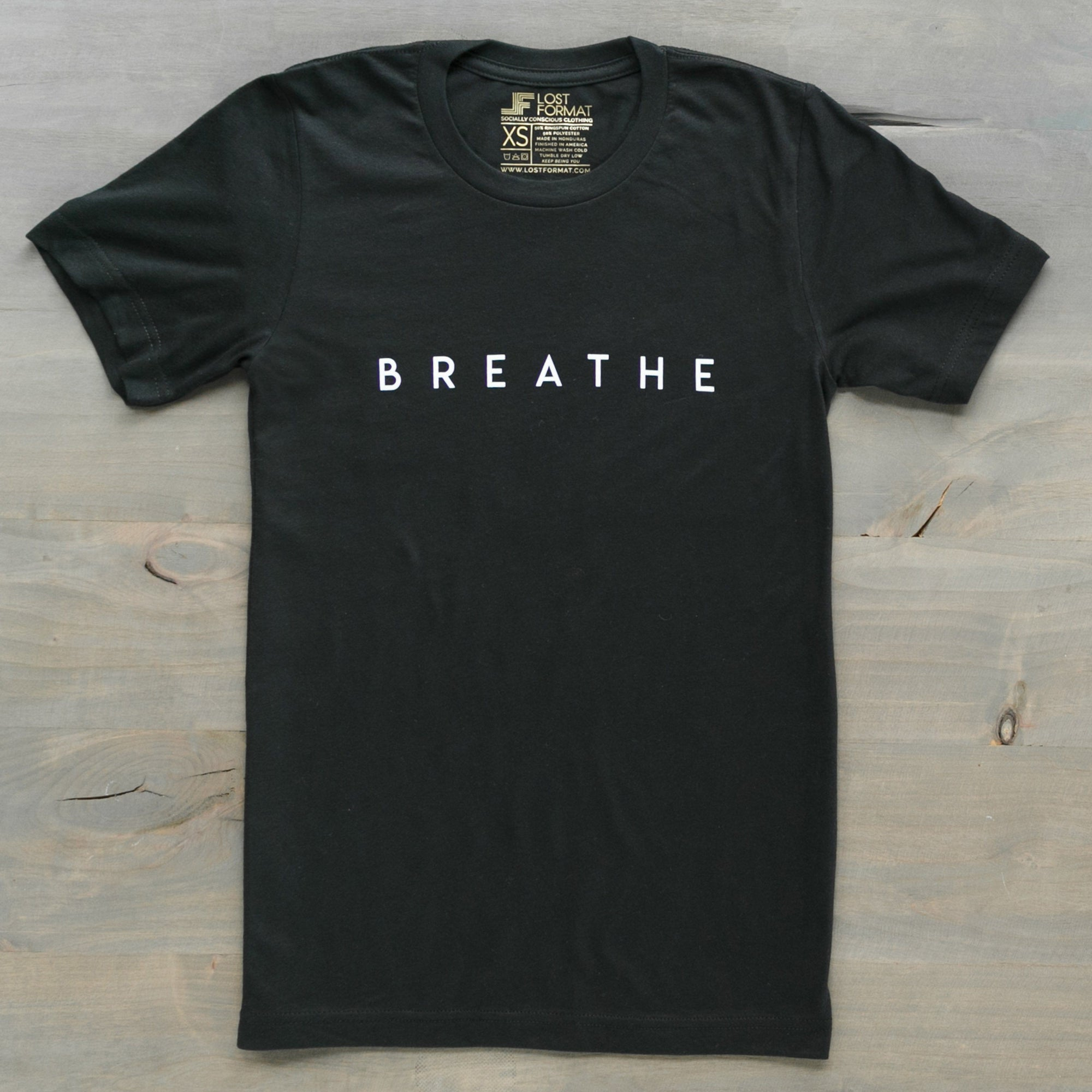 Printed Tees - The Artidote // Breathe Tee