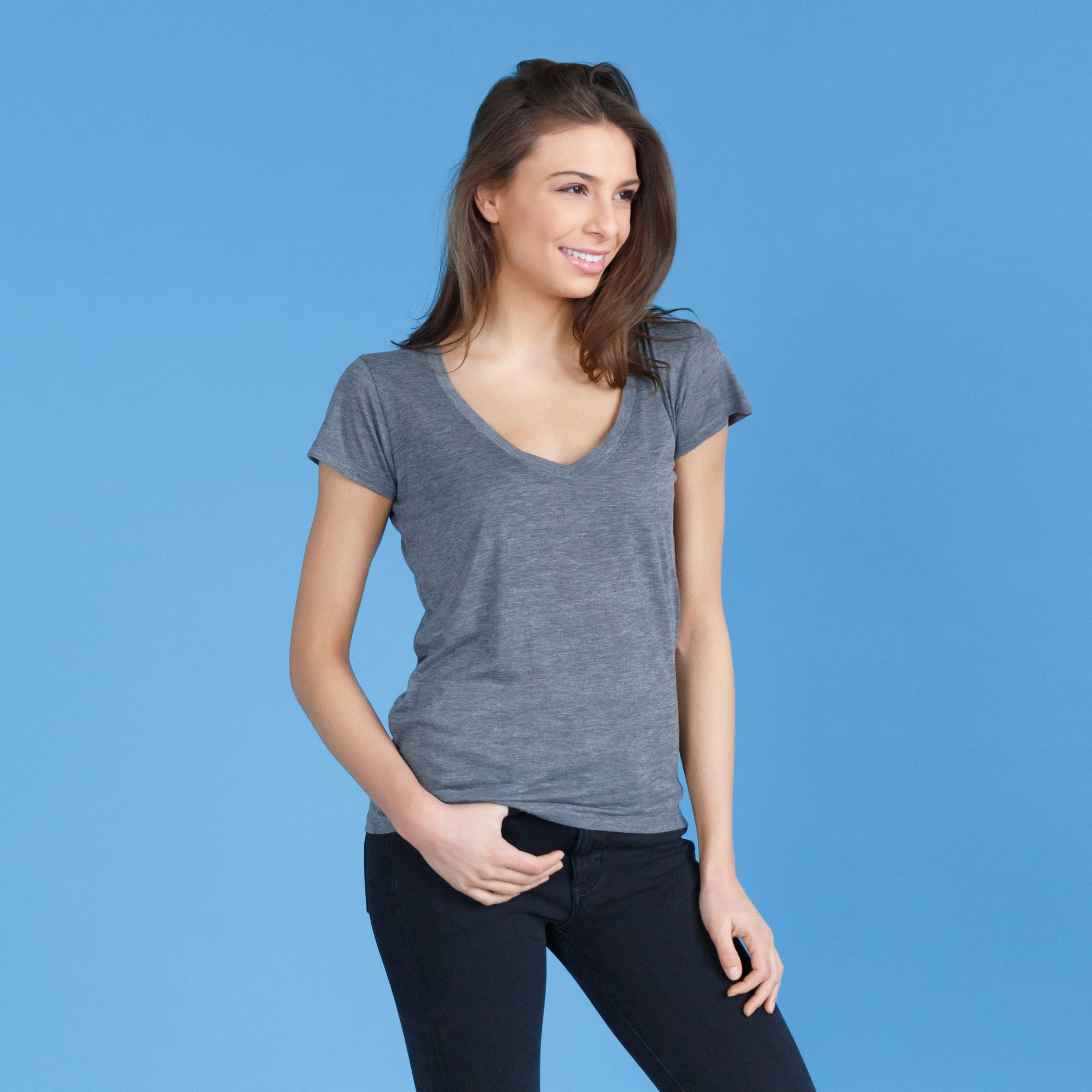 Womens Premium Tees - The Savior // V-Neck Tee