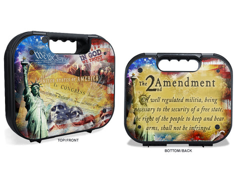 Glock Case Graphics Kit - 2nd Amendment