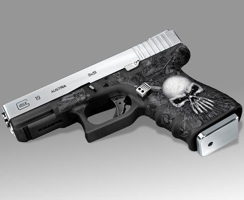 Glock 19 Gen3 Decal Grip Graphics - Arsenal