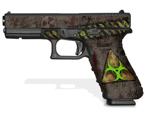 Glock 31 Gen 4 Decal Grip - Biohazard
