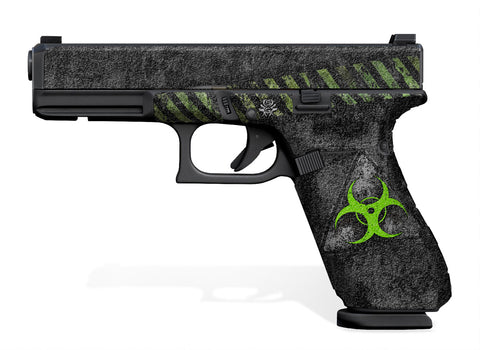 Glock 17 Gen 5 Decal Grip - Biohazard