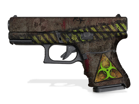 Glock 30SF Decal Grip - Biohazard