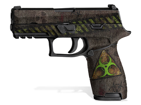 Decal Grip for Sig P320 Carry (2016+) Biohazard
