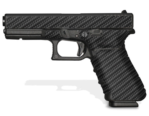 Glock 17 Gen 4 Decal Grip - Carbon Fiber