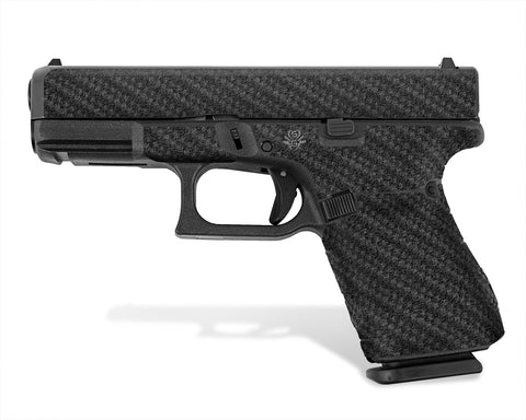 Glock 19 Gen 5 Decal Grip - Carbon Fiber