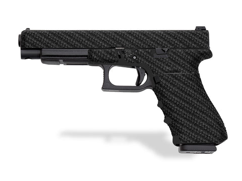 Glock 34 Decal Grip - Carbon Fiber