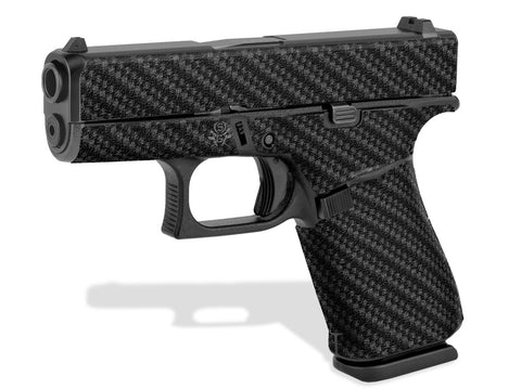 Glock 43X Decal Grip - Carbon Fiber