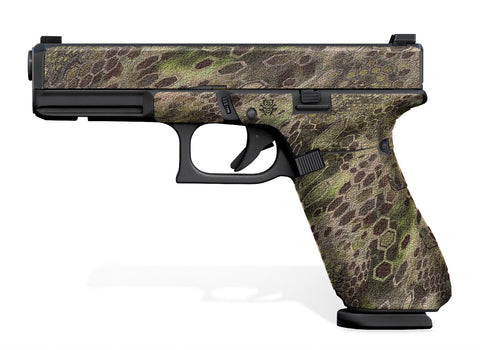 Glock 17 Gen 5 Decal Grip - Cryptic Camo