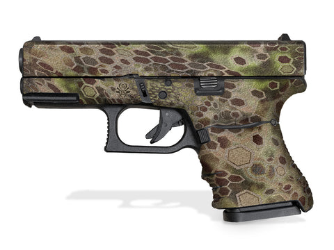 Glock 30SF Decal Grip - Cryptic Camo