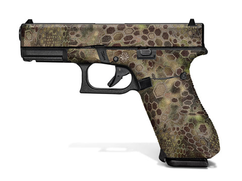 Glock G45 Decal Grip - Cryptic Camo