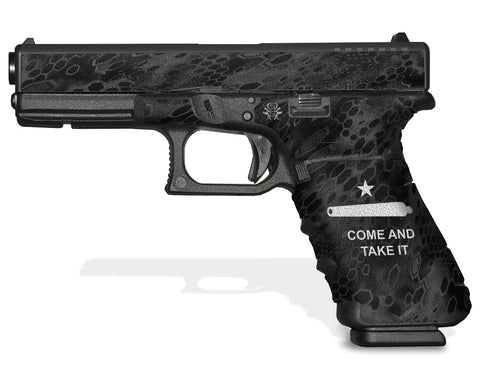 Glock 22 Gen 4 Decal Grip - Come and Take It