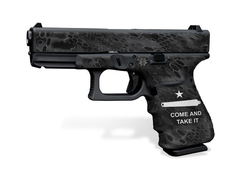 Glock 19 Gen3 Tactical Grip Graphics - Come and Take It