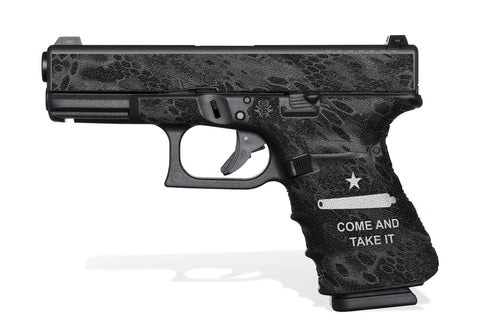 Glock 23 Gen 4 Grip-Tape Grips - Come and Take It