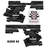 Glock 43 Decal Grip - Come and Take It