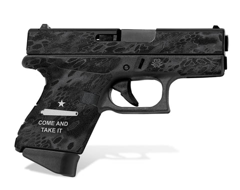 Glock 43 Tactical Grip Graphics - Come and Take It