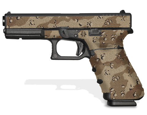 Glock 17 Gen 4 Decal Grip - Desert Camo