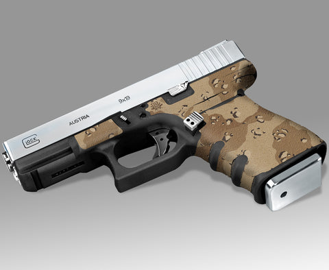 Glock 32 Gen3 Decal Grip - Desert Camo