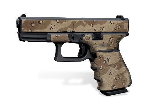 Glock 19 Gen3 Decal Grip - Desert Camo