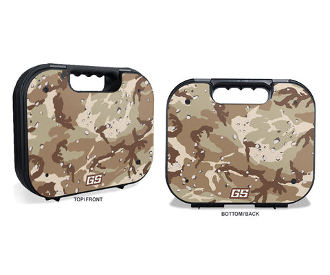 Glock Case Graphics Kit - Desert Camo